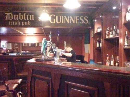 pub irlandez