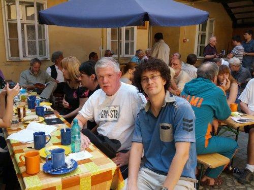 Cu Andrei Velea la Sibiu