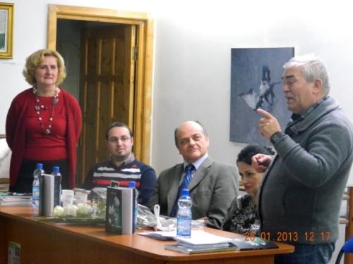 Marcu despre Vasile Diacon